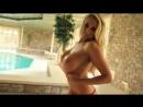 Ideal Body Girl More sexy blonde slut big ass tits Bikini Pool Очень красивая и сексуальная блондинка в бикини супер сиськи