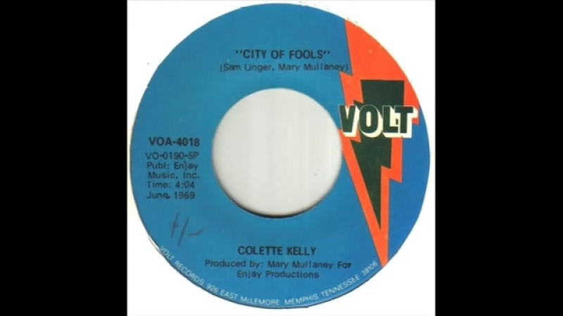 Northern Soul Colette Kelly City Of Fools