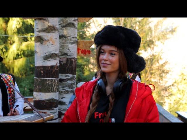 Гори, коні та «м'ясо білого ведмедика» Марічка Яремчук показала Каті Осадчій р ...
