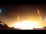 Пуск ракеты-носителя «Союз-2» с космодрома Плесецк