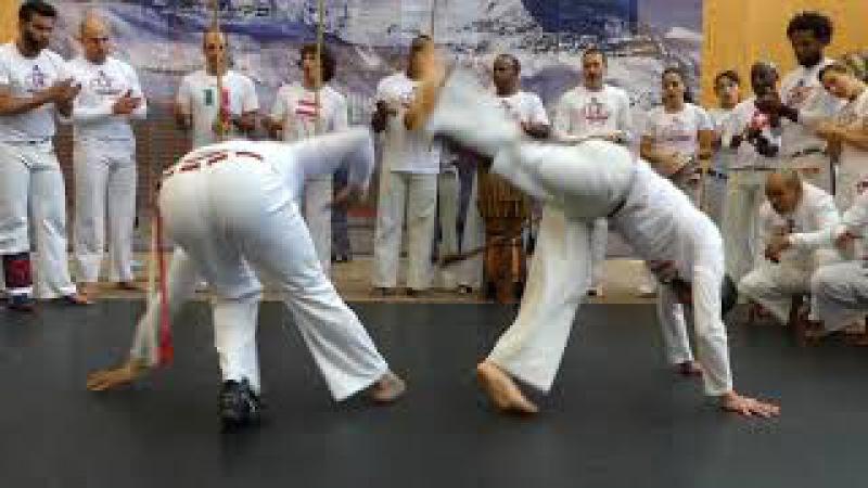 (Abadá-Capoeira) Jogos dos Alpes 2017 (Suiça)