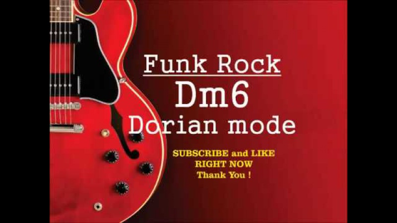 Funk Rock Dm6 Herbie Hancock Style BACKING TRACK