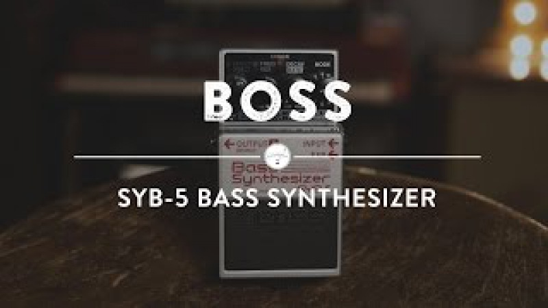 Boss SYB-5 Bass Synthesizer   Reverb Demo Video
