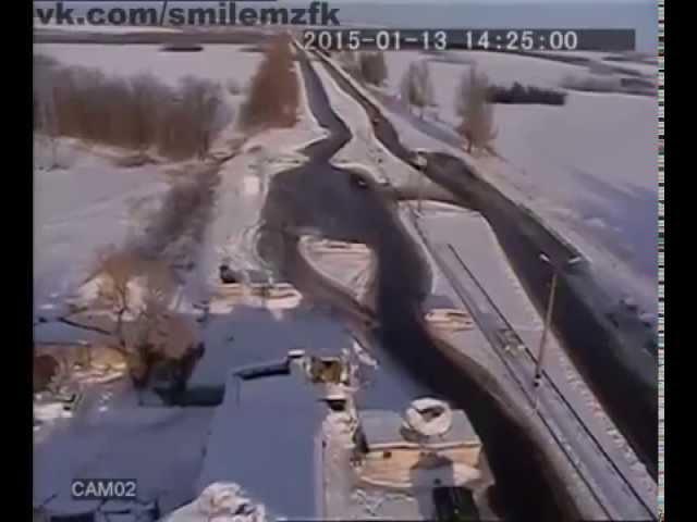 Полное видео обстрела автобуса под Волновахой.