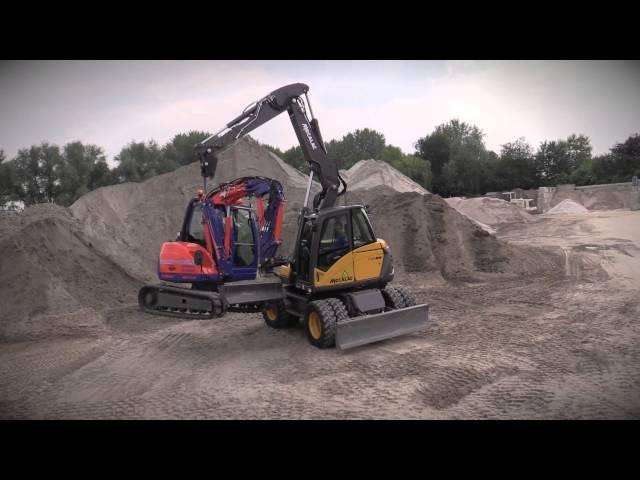 Mecalac 714 MWe Smart boom lifting 6mcr