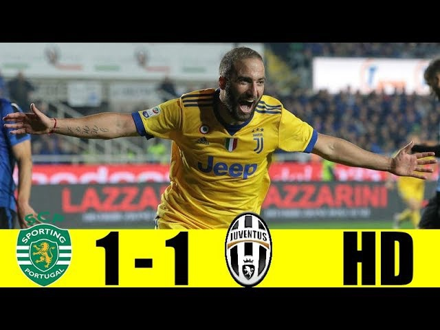 Sporting CP vs Juventus (1-1) - All Goals Highlights - CHAMPIONS LEAGUE 31/10/2017 HD