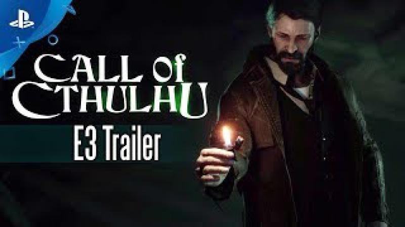 Call of Cthulhu - PS4 Trailer   E3 2017