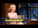 Saoirse Ronan Had to Drink Before Watching Lady Bird for the First Time