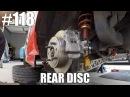 HONDA CIVIC REAR DISC CONVERSION HOW TO
