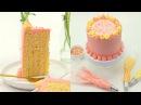 Vertical Cake Passionfruit Mango and Raspberry Cake Recipe