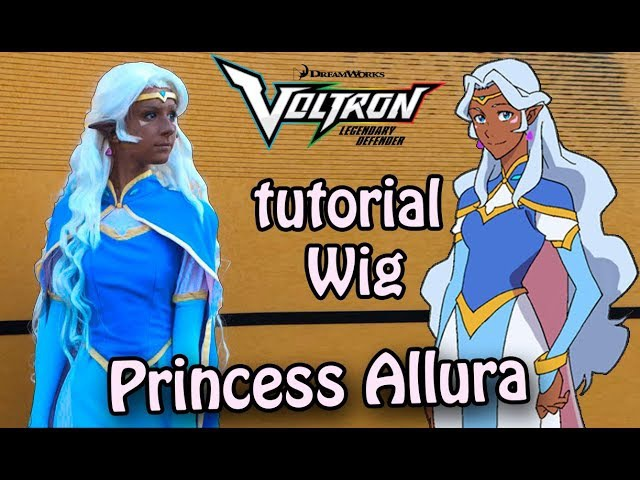 |LIMM|Voltron: Legendary Defender. Tutorial Wig Princess Allura