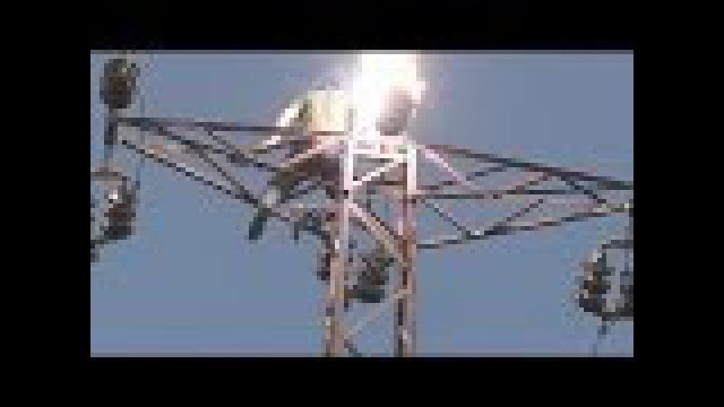 Rayos y explosiones electricas de ALTO VOLTAJE Enforza