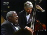 OSCAR PETERSON TRIO in Germany 1988, ZDF Jazz Club (HD)