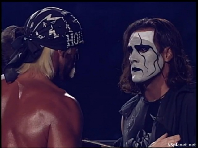 WCW Starrcade 1997, Hulk Hogan vs Sting II