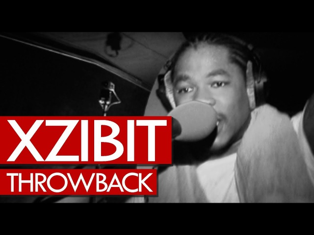 Xzibit freestyle live Anger Management tour 2003 - Throwback