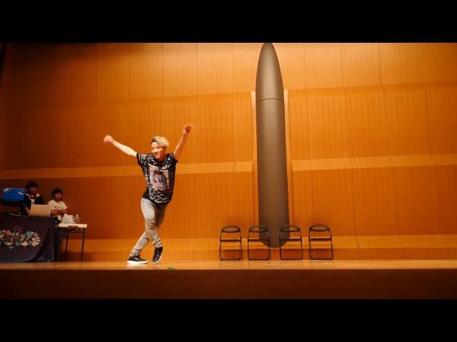 TATSUO(GLASSHOPPER) JUDGE DEMO 筑前人 vol.9 DANCE BATTLE