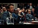 Тони Старк на слушании комиссии по вооружению. Железный человек 2. 2010.