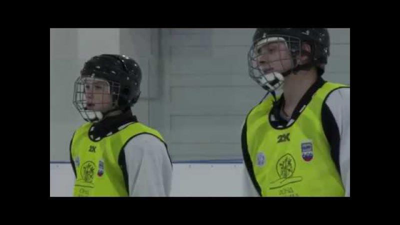 Новооскольская хоккейная команда Орион. Один день из жизни