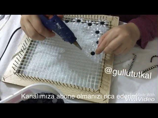 Papatya model tutkal peçete salon takımı 2017
