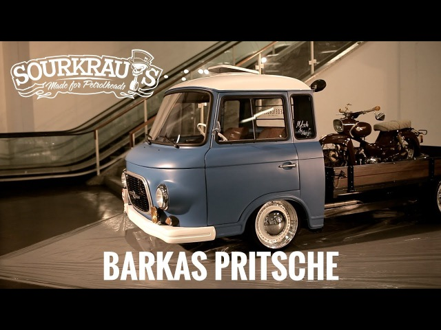 Barkas Pritsche / Shortcut / Motorshow Essen 2017 Preview