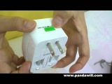 Universal Travel Power AC plug adapter AUUKUSEU