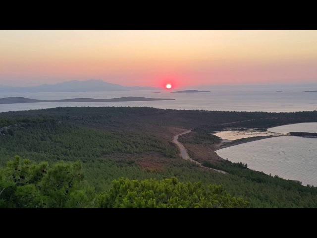 Sevimin Dünyası Ayvalık Şeytan sofrasında gün batımı adlı videonun kopyası