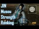 Dynasty Warriors 8 XL Musou Strength Ranking [JIN Kingdom]