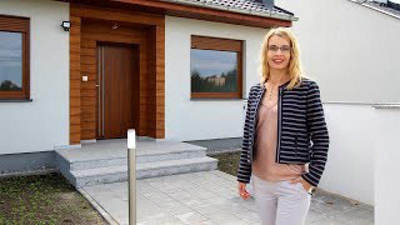 Oglądamy dom parterowy 95 m2 - Osiedle przy Jeziorze, Kórnik-Biernatki