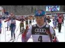 Тур де Ски 2017 - Гонка преследования 10 км, свободный стиль, женщины - 04.01.2017 - Оберст ...