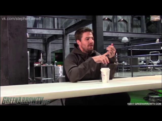 Стивен Амелл об упоминании Бэтмена в 6х02 эпизоде