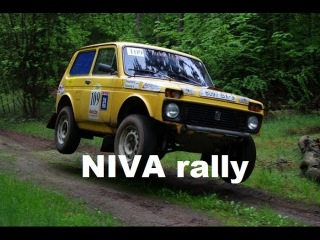Стандартная Нива в ралли. Как валят нивы | NIVA 4x4 rally