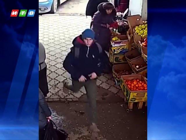 Полиция розыскивает подозреваемого в грабеже