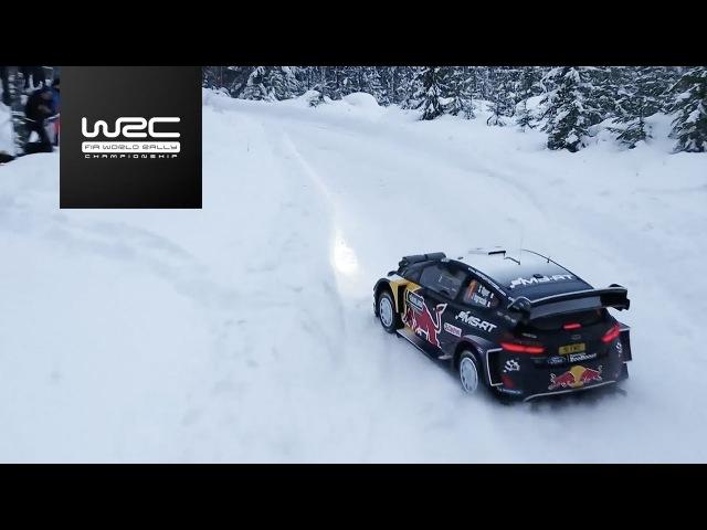 WRC Rally Sweden 2018 Shakedown Highlights
