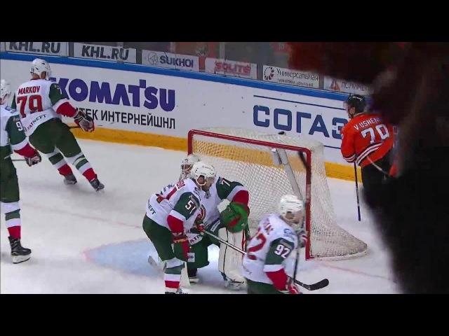 Моменты 2017/2018 • Ушенин обокрал Маркова и убежал за голом