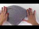 Двойная шапка бини спицамишкола вязания Светланы Ильичевой Вязание с изюминкой