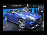 Monstrous 630bhp Mercedes-AMG GT 4-Door Coupe unleashed at Geneva Motor Show 2018