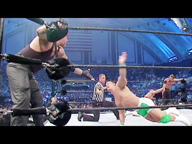 The Undertaker John Cena vs. Kurt Angle Chris Jericho: SmackDown, July 11, 2002