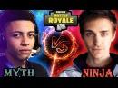 NINJA VS MYTH WHO IS BETTER Fortnite Battle Royale