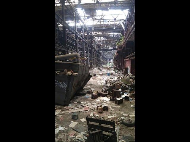 Abandoned Railroad Repair Facilities