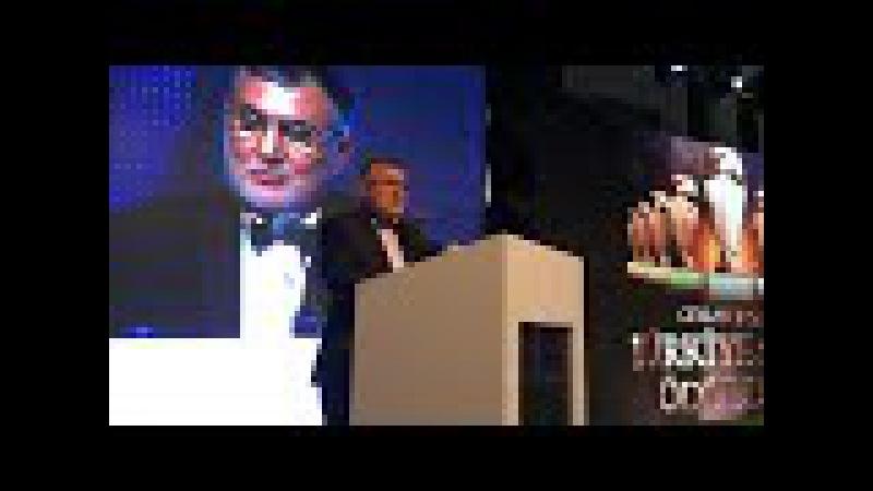 Muammer Ceylan, Ceylan İnşaat Türkiye Spor Ödülleri Töreni açılış konuşması