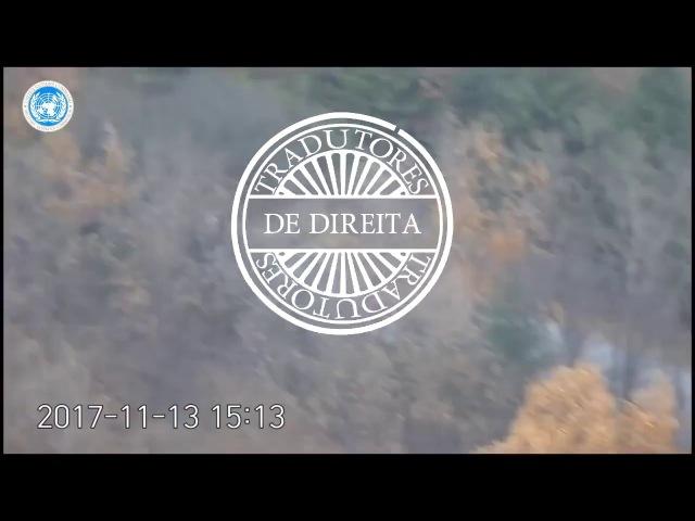 A fuga dramática de um soldado norte-coreano em vídeo