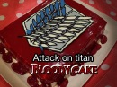 How to make Attack on titan bloody cake