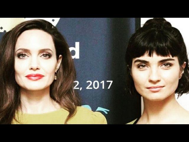 Туба Бюйюкюстюн Встретилась с Анджелиной Джоли!