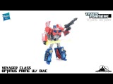 Transformers Titans Return Voyager Class OPTIMUS PRIME Video Review