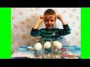 РАСТУЩИЕ игрушки в воде Растим из яиц Змею Крокодила и Лебедя РАСПАКОВКА