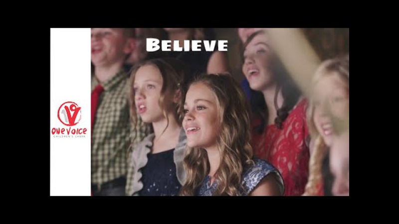 Believe by Josh Groban (Polar Express) - Cover by One Voice Children's Choir and Peter Hollens
