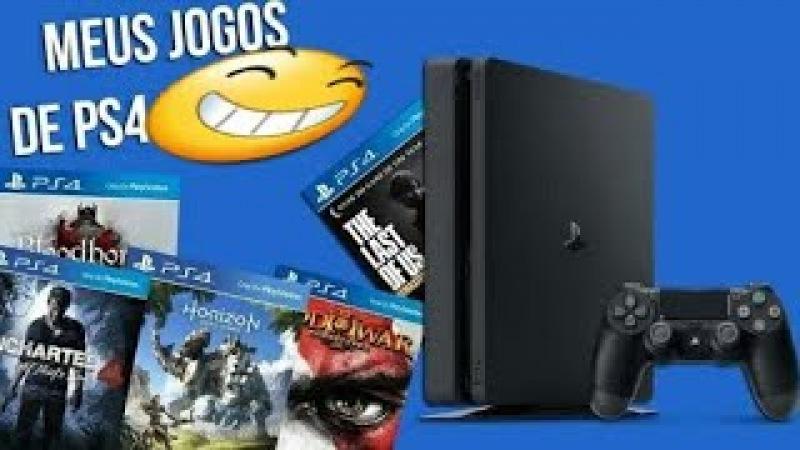 MEUS JOGOS DE PS4! agradecendo os inscritos_ quais são eles?