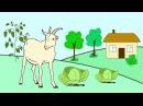 Мультфильм про домашних животных и птиц  Развивающие мультики для детей до 4 х л