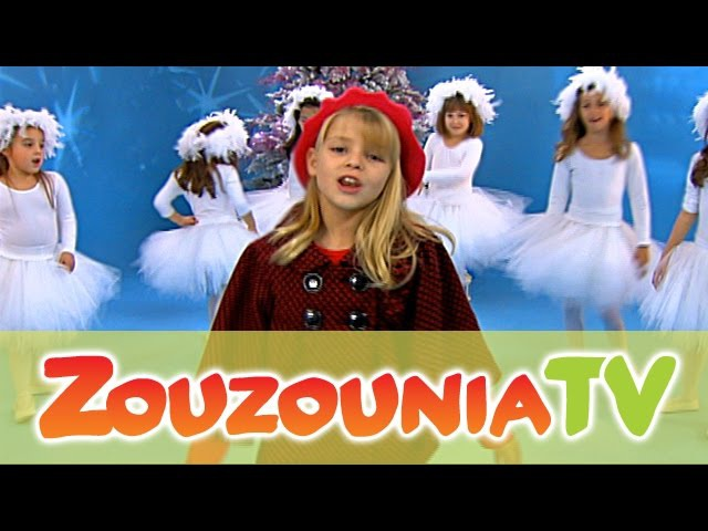 Flocons de Noël Christmas Songs for kids Zouzounia feat Anna Rose Amanda