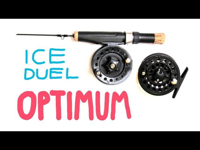 Инерционная катушка Optimum Ice Duel 70 | (Stinger Arctic CharXР) Fishing Lures Review